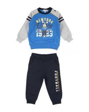 Спортивный костюм 02 TANDEM. Цвет: синий