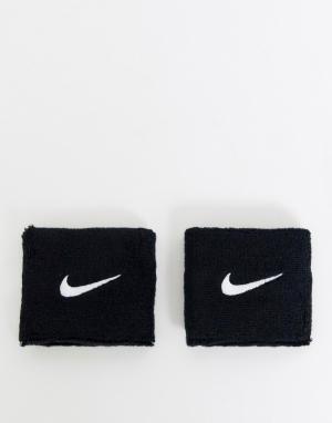Черные напульсники с логотипом Training-Черный Nike