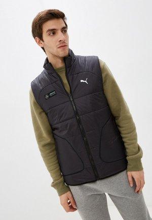 Жилет утепленный PUMA MAPF1 RCT Padded Vest. Цвет: черный