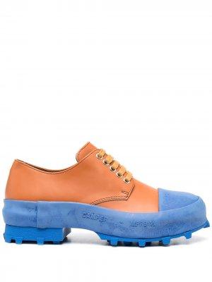 Туфли дерби Traktori CamperLab. Цвет: коричневый