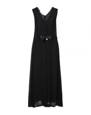 Длинное платье CARACTÈRE. Цвет: черный