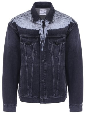 Куртка джинсовая с принтом MARCELO BURLON
