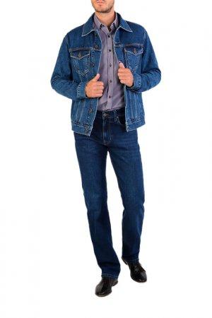 Джинсовая куртка DALLAS. Цвет: синий
