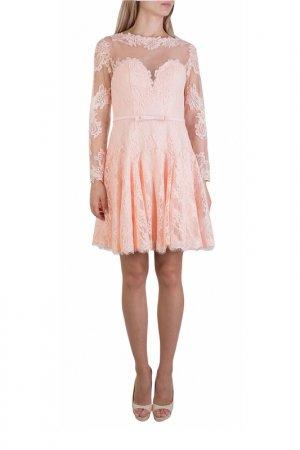 Платье FOREVER UNIQUE. Цвет: оранжевый