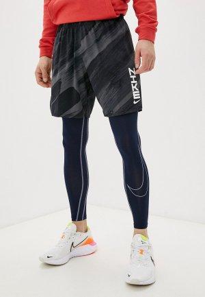 Тайтсы Nike M NP DF TIGHT. Цвет: синий