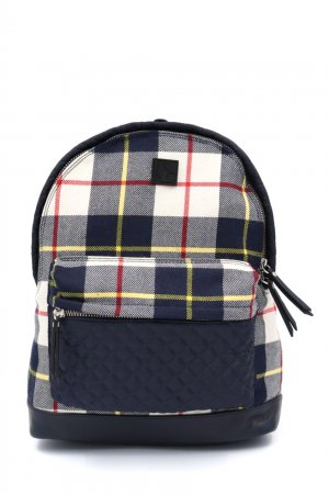 Темно-синий хлопковый рюкзак Bonpoint. Цвет: синий