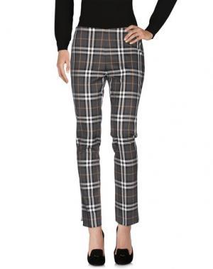 Повседневные брюки CLUB VOLTAIRE. Цвет: стальной серый