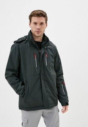 Куртка утепленная Taygerr. Цвет: хаки