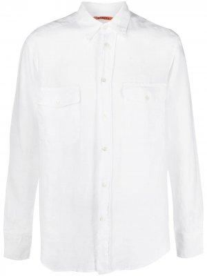 Рубашка с нагрудным карманом Barena. Цвет: белый