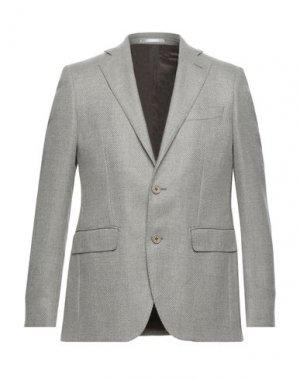 Пиджак ANGELO NARDELLI. Цвет: светло-серый