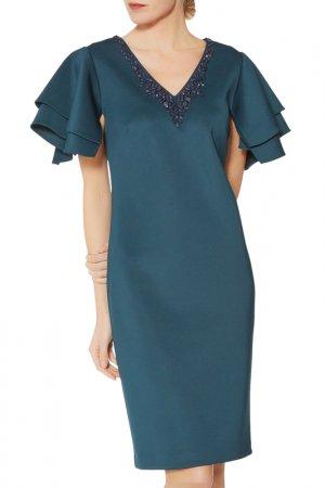 Dress Gina Bacconi. Цвет: blue