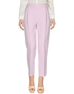 Повседневные брюки GIAMBATTISTA VALLI. Цвет: розовый