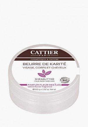 Масло для тела Cattier Карите с ароматом цветов (100 г). Цвет: прозрачный