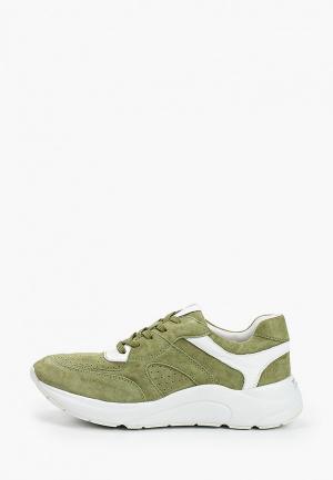 Кроссовки Caprice. Цвет: зеленый