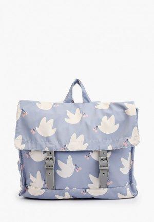 Рюкзак Sela. Цвет: голубой