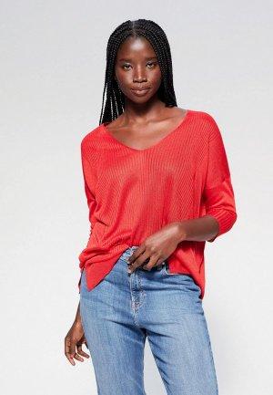 Пуловер Violeta by Mango - SUGAR. Цвет: красный
