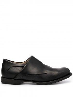 Туфли монки Yohji Yamamoto. Цвет: черный