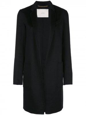 Пальто Zibelline Adam Lippes. Цвет: черный
