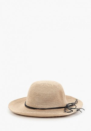 Шляпа Jack Wolfskin TRAVEL HAT WOMEN. Цвет: бежевый