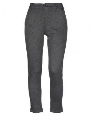 Повседневные брюки GAUDÌ. Цвет: свинцово-серый