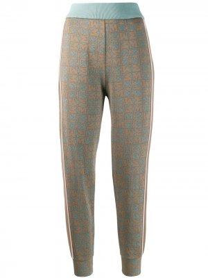 Зауженные брюки M Missoni. Цвет: нейтральные цвета