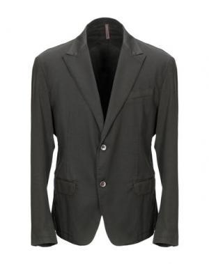 Пиджак ITALIANS GENTLEMEN. Цвет: темно-коричневый