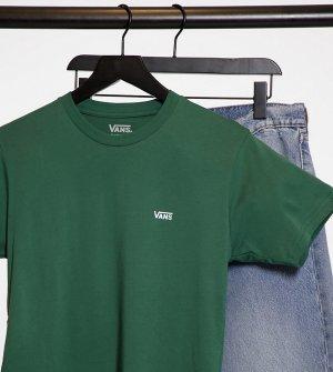 Зеленая футболка с логотипом на груди эксклюзивно ASOS-Зеленый Vans