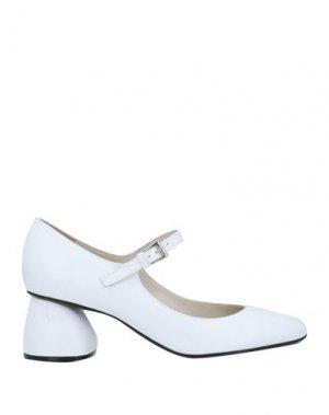 Туфли CARVEN. Цвет: белый