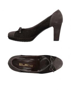 Туфли ELATA. Цвет: свинцово-серый