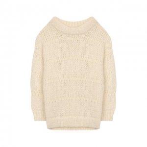Шерстяной свитер Designers, Remix girls. Цвет: белый