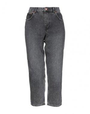 Джинсовые брюки CHEAP MONDAY. Цвет: серый