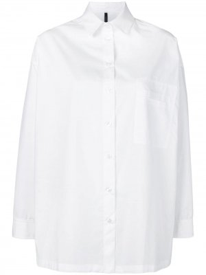 Рубашка оверсайз Pierantoniogaspari. Цвет: белый