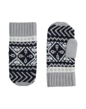 Перчатки TOMMY HILFIGER. Цвет: светло-серый