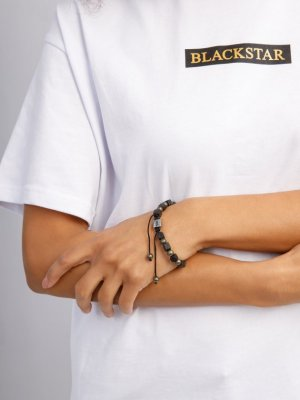 Браслет VULCAN Black Star Wear. Цвет: черный