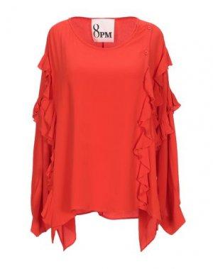 Блузка 8PM. Цвет: красный
