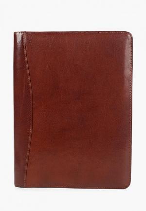 Папка Dr.Koffer. Цвет: коричневый