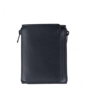 Бумажник MAISON MARGIELA. Цвет: черный