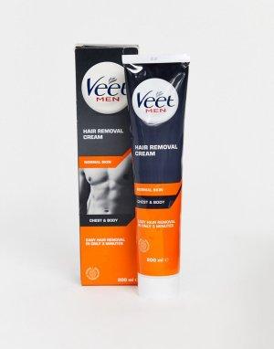Крем для удаления волос с тела и грудной клетки Veet for Men