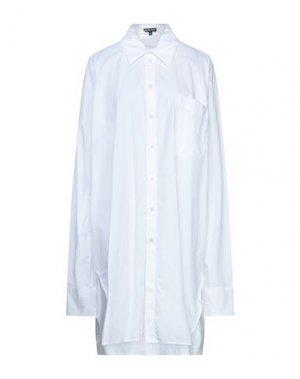 Pубашка ANN DEMEULEMEESTER. Цвет: белый
