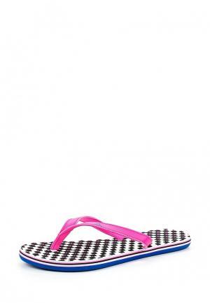 Сланцы adidas eezay dots W. Цвет: розовый