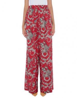 Повседневные брюки ANTONIO BERARDI. Цвет: кирпично-красный
