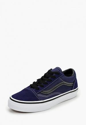 Кеды Vans UY OLD SKOOL. Цвет: синий