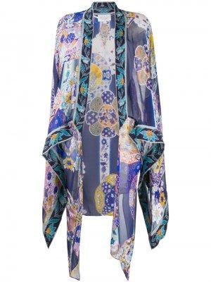 Кимоно с цветочным принтом Camilla