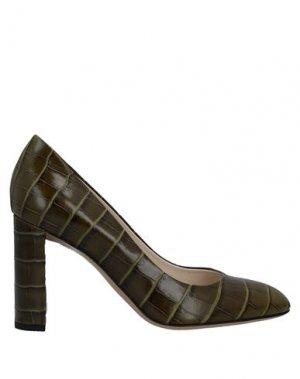 Туфли DEIMILLE. Цвет: зеленый-милитари