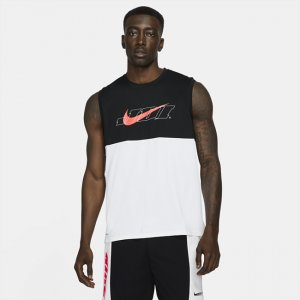 Мужская майка с графикой Pro Dri-FIT Sport Clash - Белый Nike