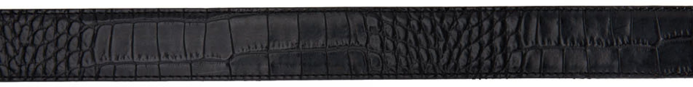 Black Croc Pegaso Belt Etro. Цвет: 0001 black