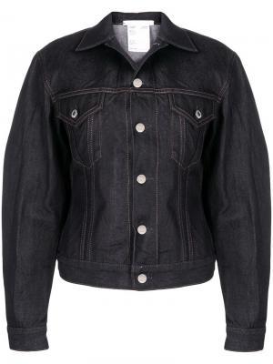 Джинсовая куртка Helmut Lang. Цвет: синий