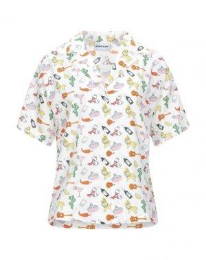 Pубашка AU JOUR LE. Цвет: белый