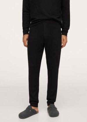 Комплект пижама из хлопка - Merlo Mango. Цвет: черный