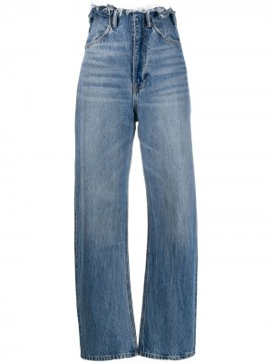 Зауженные джинсы с присборенной талией Alexander Wang